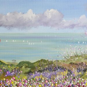 Alum Bay Isle of Wight Fine Art Print painting artwork picture