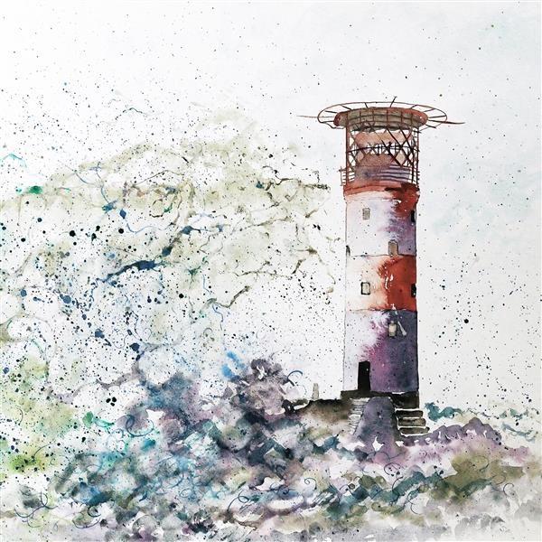 Lighthouse storm Coaster