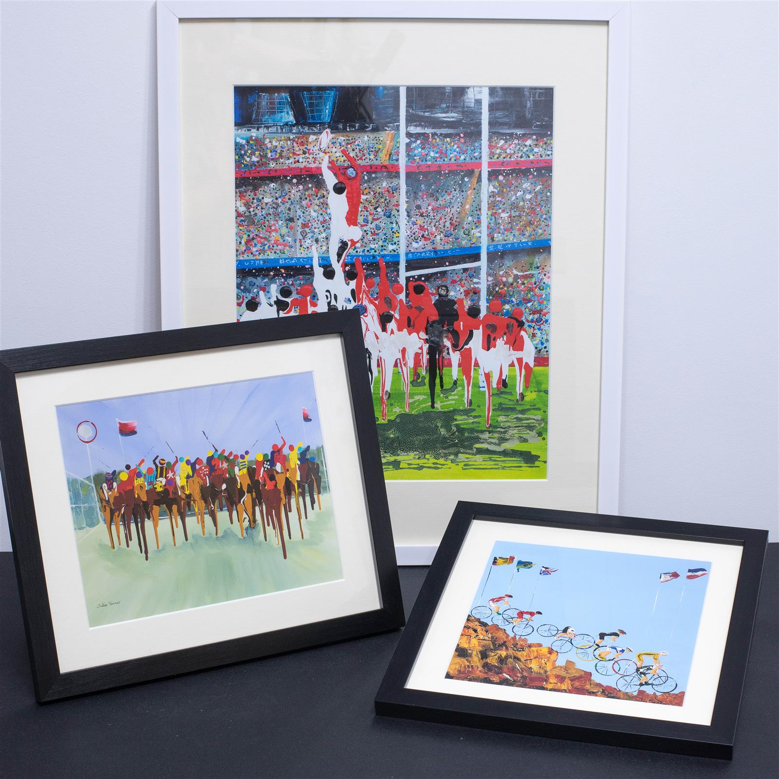 Sport Fine Art Giclee Prints for Sale Julia Tanner Art
