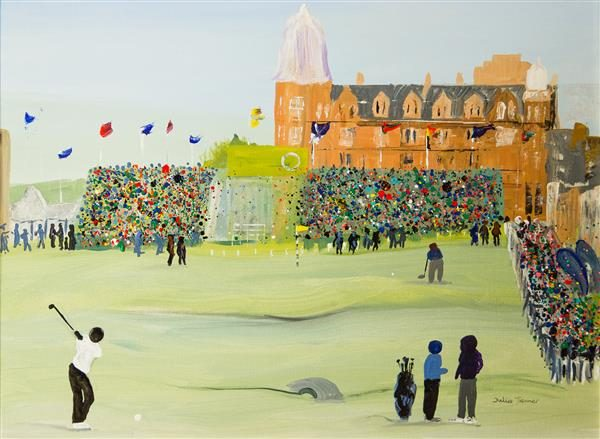 The 18th Hole Greetings Card