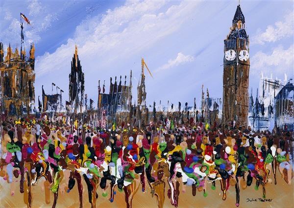 The London marathon Greetings Card