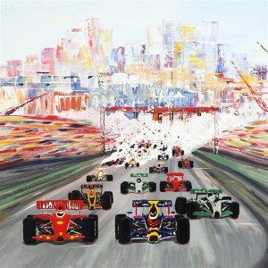 The Monaco Grand Prix Coaster