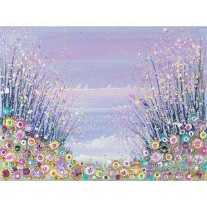 hand embellished framed print