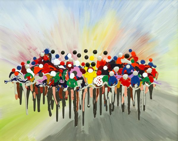 bicycle race fine art print road race bicycle race