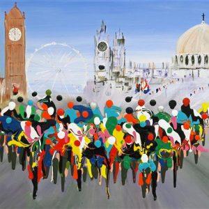 Ride london Greetings Card