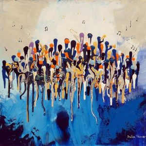 The Blue Notes - Fine Art Print
