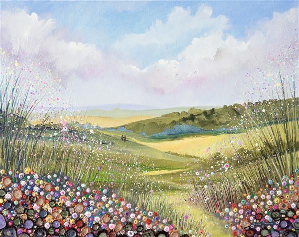Walking Through the Hills - Fine Art Print