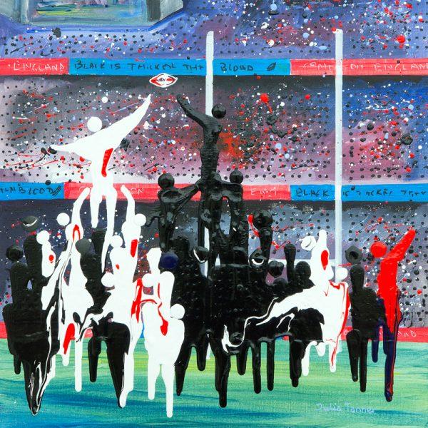 England v the Allblacks rugby