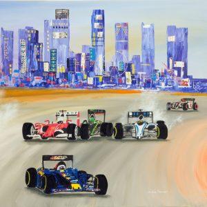 singapore grand prix painting