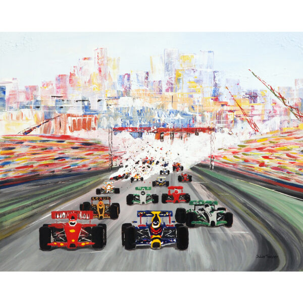 formula one greetings card