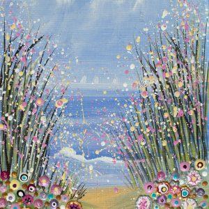 floral seascape