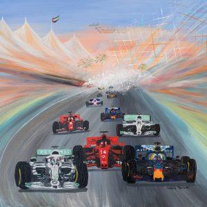 lewis Hamilton formula one sport art fine art print formula one car racing