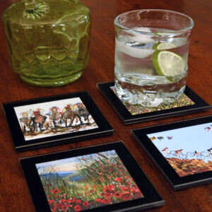 Glass Table Mats and Coasters