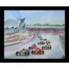 formula one Grand Prix table mat placemat