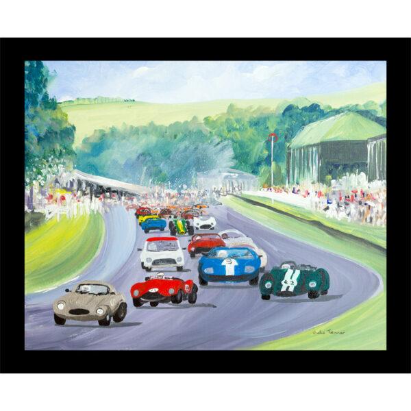 car table mat placemat racing classic car