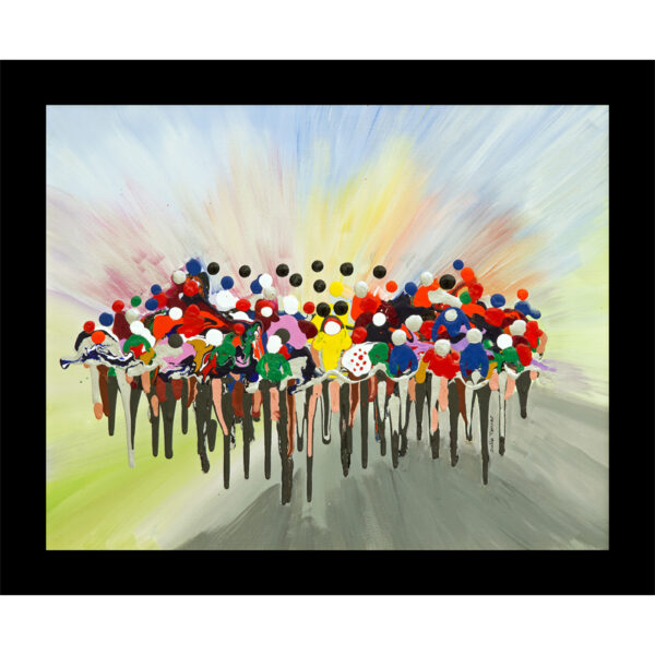 cycling bicycle race table mat placemat sport