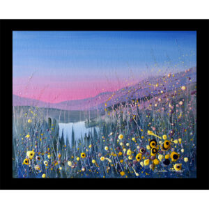 landscape art table mat placemat