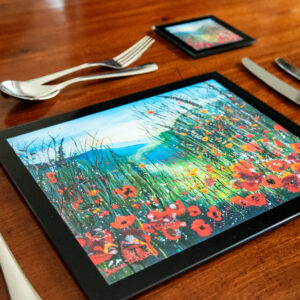 Heat Resistant Toughened Glass Table Mats