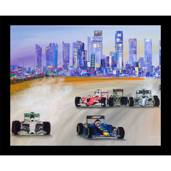 the Singapore Grand Prix motor racing formula one table mat