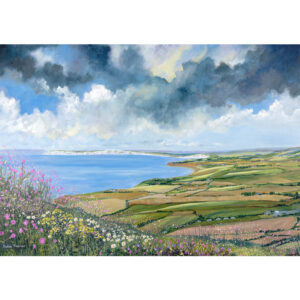 Isle of Wight painting print art