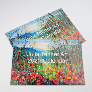 Julia Tanner Art 2021 fine art artists calendar