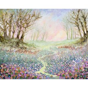 twilight stroll February image Julia Tanner Art fine art calendar 2022