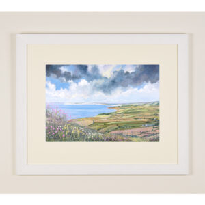 the Isle of Wight framed art print artist