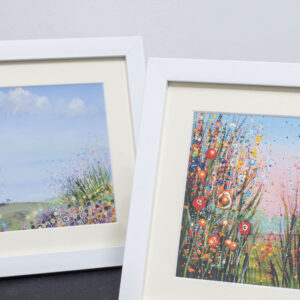 Framed Hand Embellished Fine Art Prints