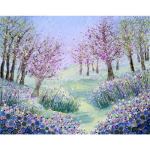 this-painting-depicts-a-woodland-of-cherry-trees-the-trees-are-in-blossom-and-there-are-flowers-on-the-forest-floor.