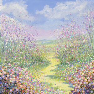a-painting-depicting-a-wildflower-meadow-using-acrylic-and-oil-paints-framed-on-canvas